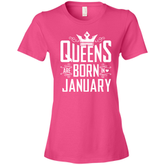 Queens Are Born January T-shirt