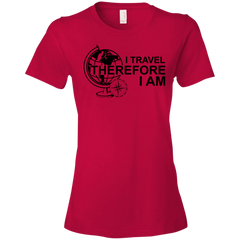 I Travel Therefore I Am T-shirt