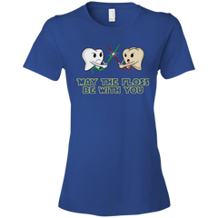 May The Floss Be With You Dental T-shirt