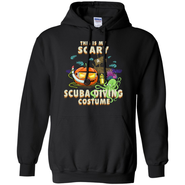 Scuba Diving Halloween Men's Hoodie