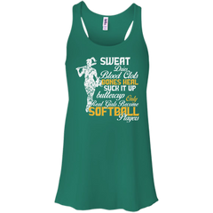 Real Girls Become Softball Players T-shirt