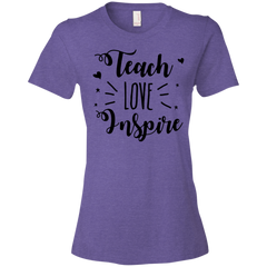 Teach Love Inspire Teacher T-shirt