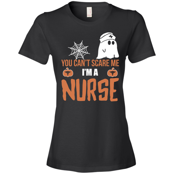 You Can't Scare Me I'm a Nurse Halloween T-shirt