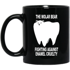 The Molar Bear Dental Drinkware Mug
