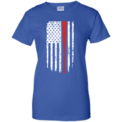 Softball US Flag T-shirt