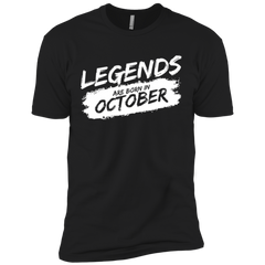 Legends Are Born in October T-shirt