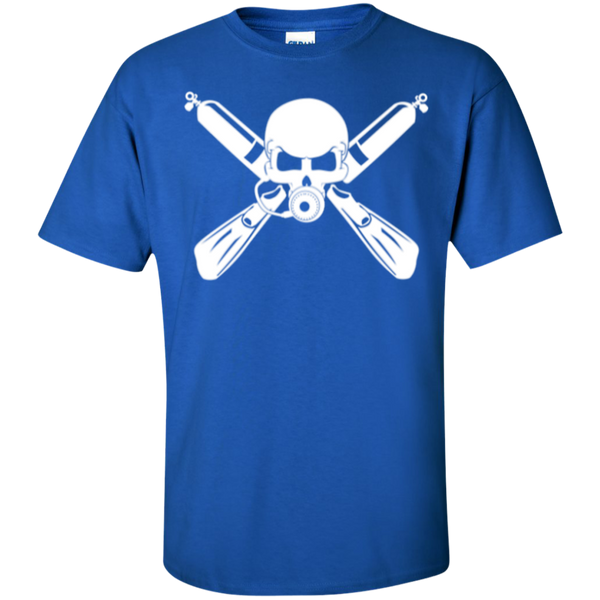 Scuba Diving Crossbones T-shirt
