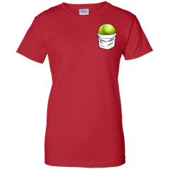 Softball Pocket Ladies T-shirt