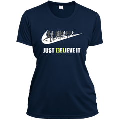 13.1 Just Believe It Half Marathon Ladies Sweatshirt