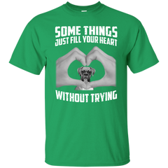 Some Things Just Fill Your Heart Without Trying Boxer Love T-shirt