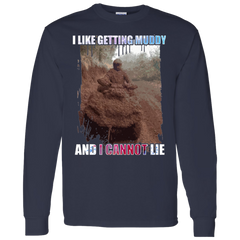 I Like Getting Muddy And I Cannot Lie Motocross T-shirt