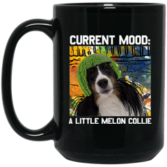 Current Mood A Little Melon Collie Coffee Mug
