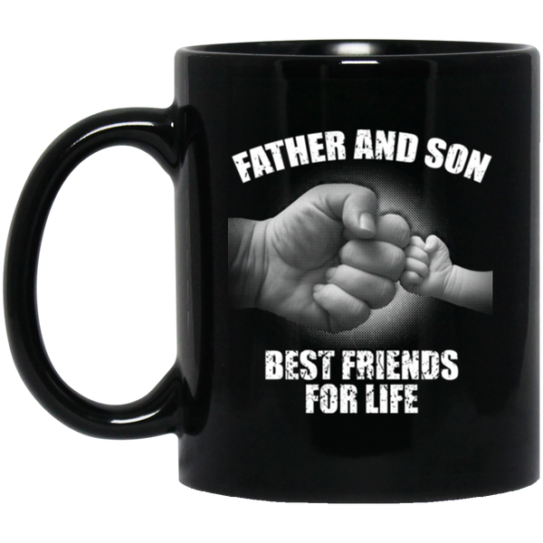 Father And Son Best Friends For Life Coffee Mug