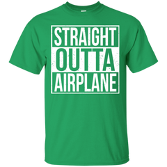 Straight Outta Airplane T-shirt