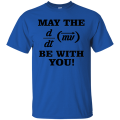 May The Force Be With You Physics T-shirt