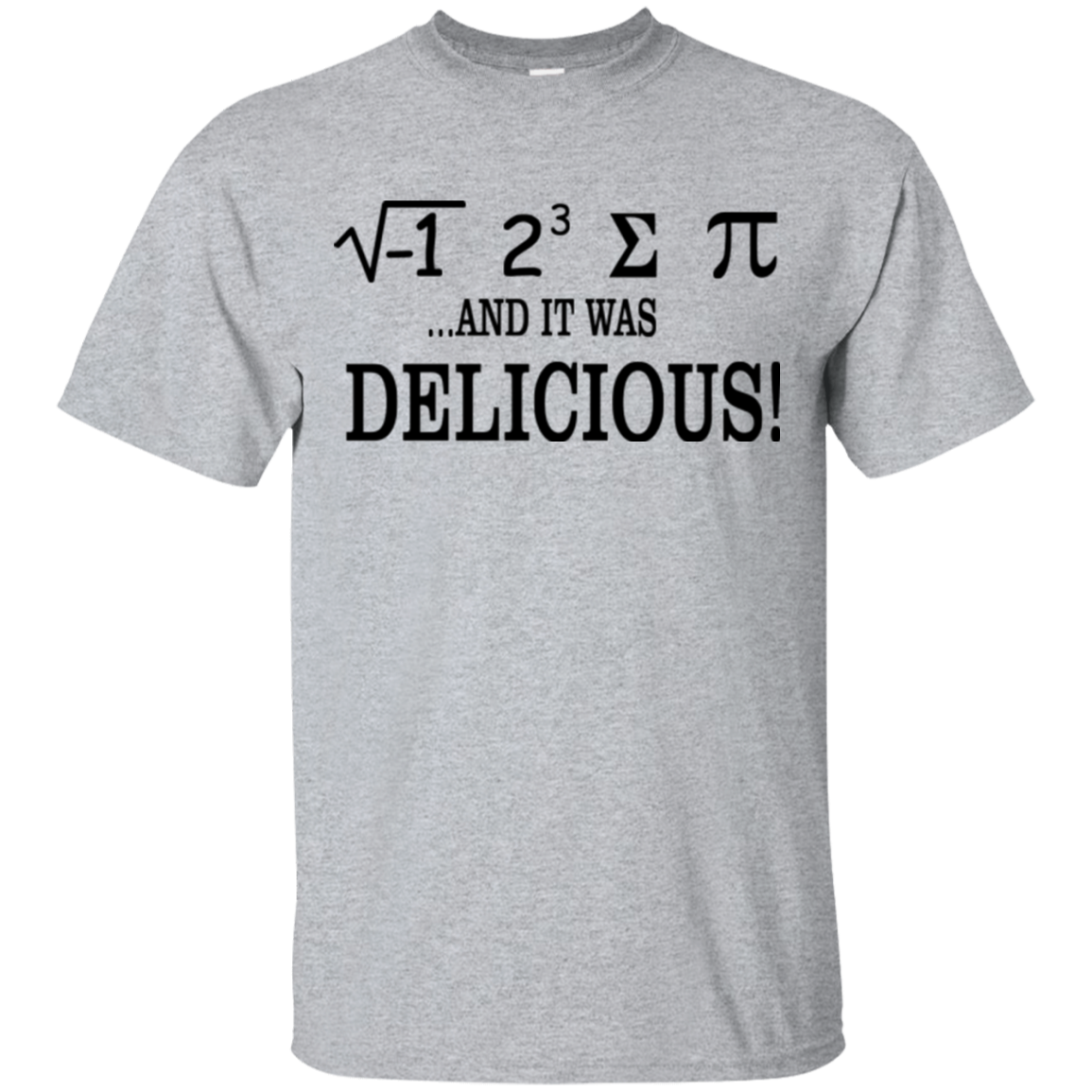 I Ate Some Pie and It Was Delicious Math T-shirt