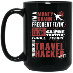 Travel Hacker Coffee Mug