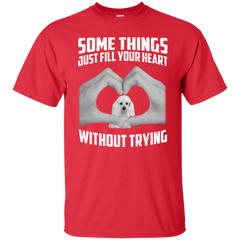 Some Things Just Fill Your Heart Without Trying Poodle Love T-shirt