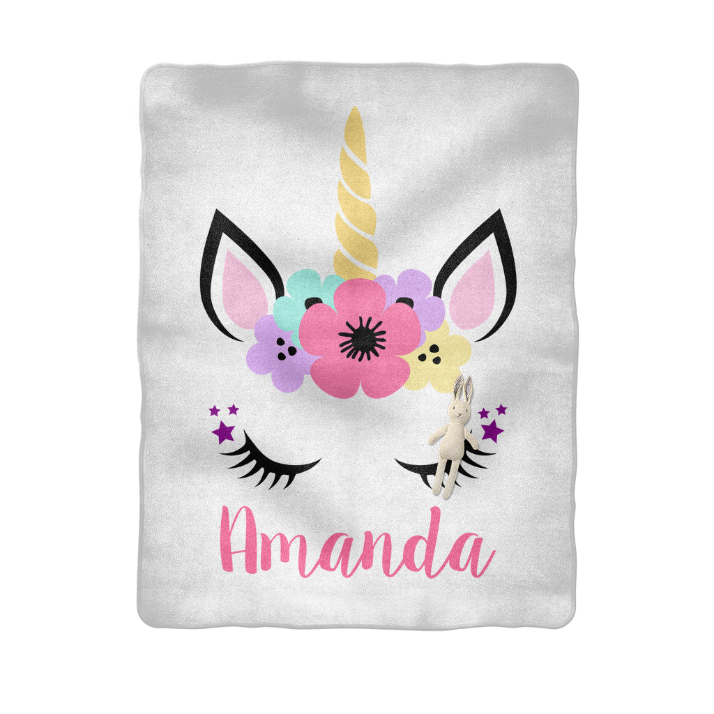 Unicorn Sublimation Baby Blanket