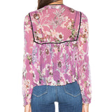 Boho is Best Sheer Top by Auguste