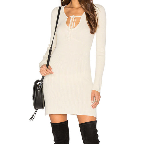 Delancey Mini Dress by For Love & Lemons KNITZ