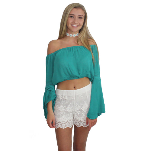 Crochet Crop Top by Band of Gypsies