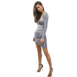 Mia Greyscale Dress by Lioness