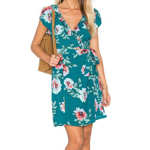 Pretty Primrose Wrap Dress by MINKPINK