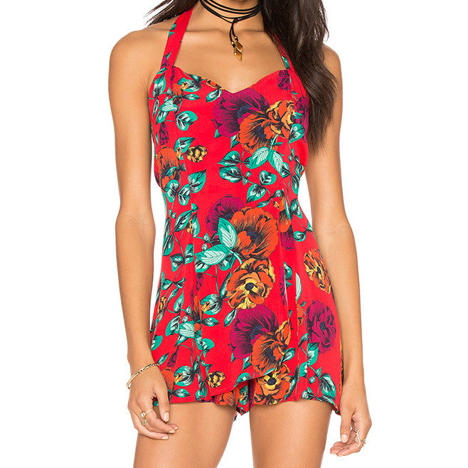 Tropical Dream Romper by MINKPINK