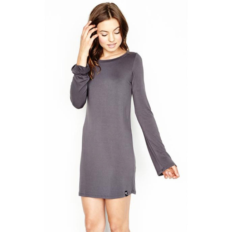 Rocket Crew Neck Mini Dress by Michael Lauren