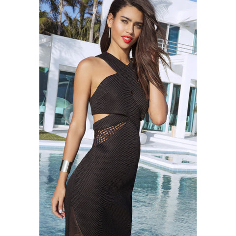 Mesh Front Dress by Kendall + Kylie