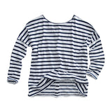 Classic Striped Tee by Auguste