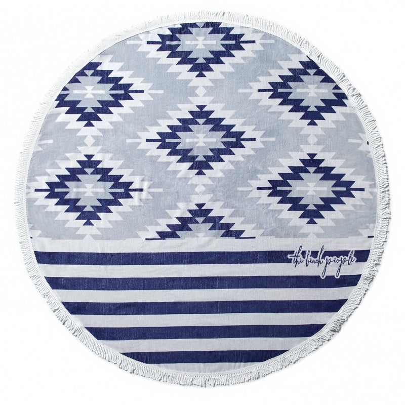 The Montauk Round Towel by The Beach People