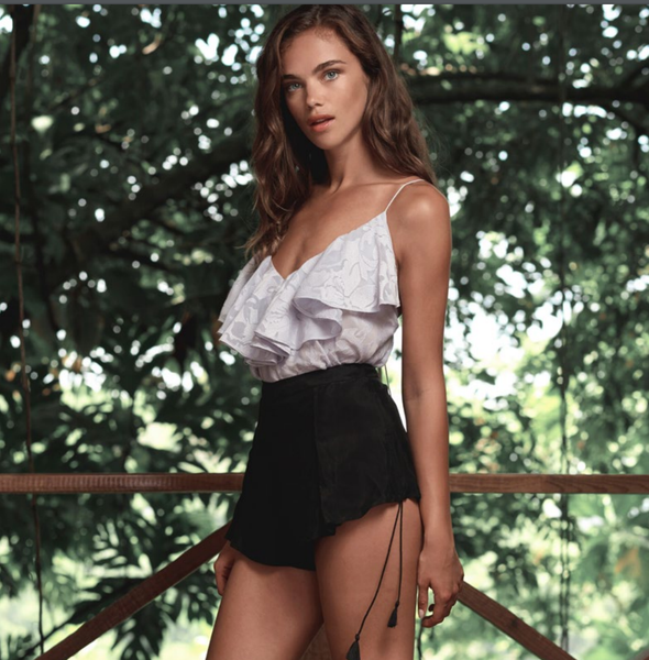 Wanderlust Cami by The Jetset Diaries