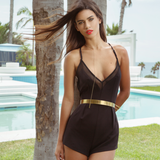 Mesh Romper by Kendall + Kylie