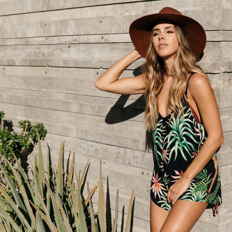 Kenna Romper by Beach Riot