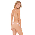 Zara Top in Perle by Rove Swimwear