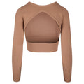 Compact Long Sleeve Crop Top by Kendall + Kylie