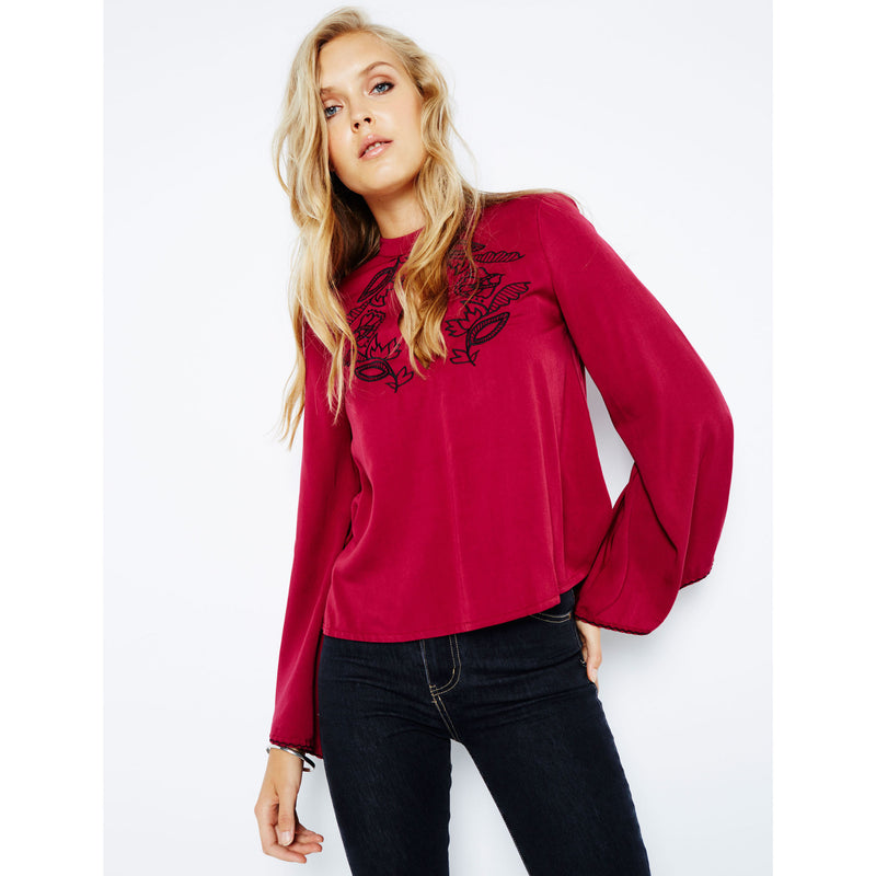 Valley of The Vine Blouse by MINKPINK