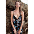Mykonos Dress in Wild Orchid by Rove Swimwear