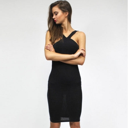 Divine High Neck Dress by Lioness