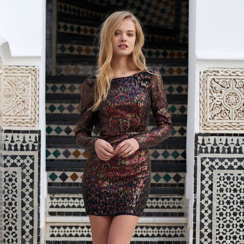 Tapestry Mini Dress by The Jetset Diaries