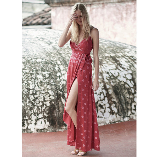 Fuego Maxi Dress by The Jetset Diaries