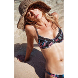 Dixie Top in Wild Orchid by Rove Swimwear