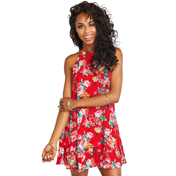 Katy Halter Dress in Flower Love Cloud by Show Me Your Mumu