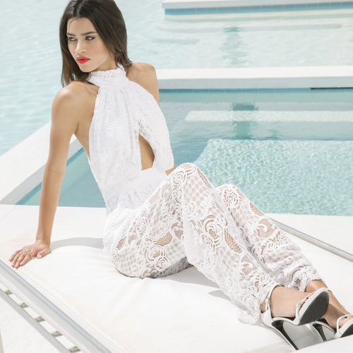 Lace Jumpsuit by Kendall + Kylie
