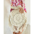 Gypsy Round Arrow Crochet Bag by Gypsy Mermaid