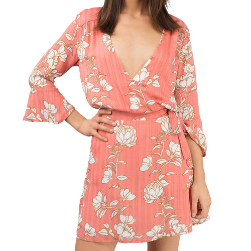 Lovina Wrap Dress by MINKPINK