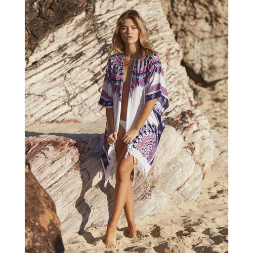 Purple Sunset Kimono by Gypsy Mermaid
