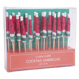 Watermelon Cocktail Umbrella Set by Sunnylife